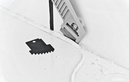 Anwendung Cramer Fugenmesser